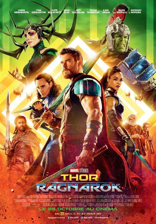Thor : Ragnarok : Affiche