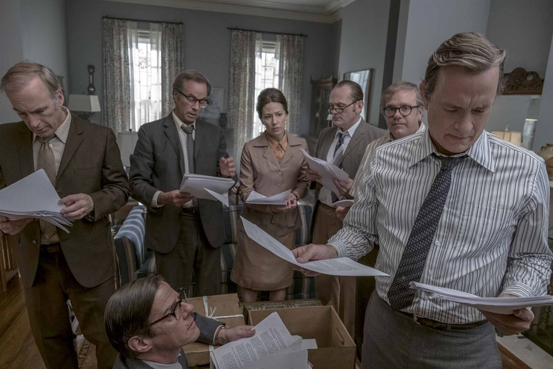 Pentagon Papers : Photo Carrie Coon, Tom Hanks