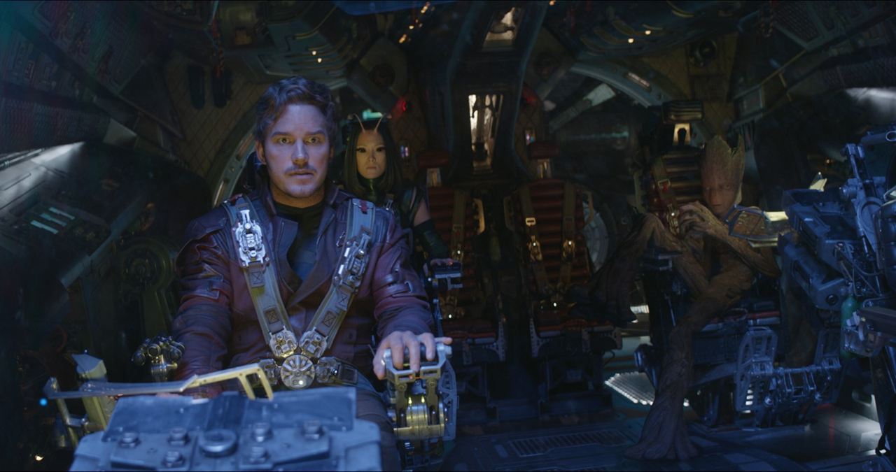 Avengers: Infinity War : Photo Chris Pratt, Pom Klementieff