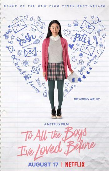 À tous les garçons que j'ai aimés : Affiche