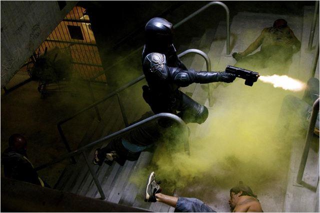 Dredd : photo Karl Urban