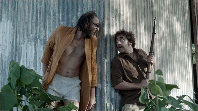 Marcus (Philippe Rebbot) et Gonzalo (Gustavo Kamenetzky) en pleine expédition...