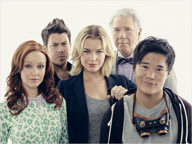 Photo Christian Kane, John Kim, John Larroquette, Lindy Booth, Rebecca Romijn