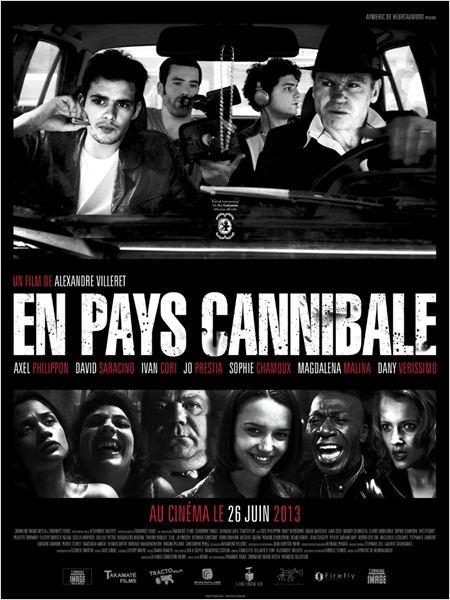 En pays cannibale : Affiche