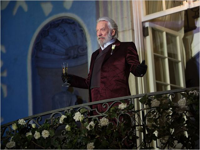 Hunger Games - L'embrasement : Photo Donald Sutherland