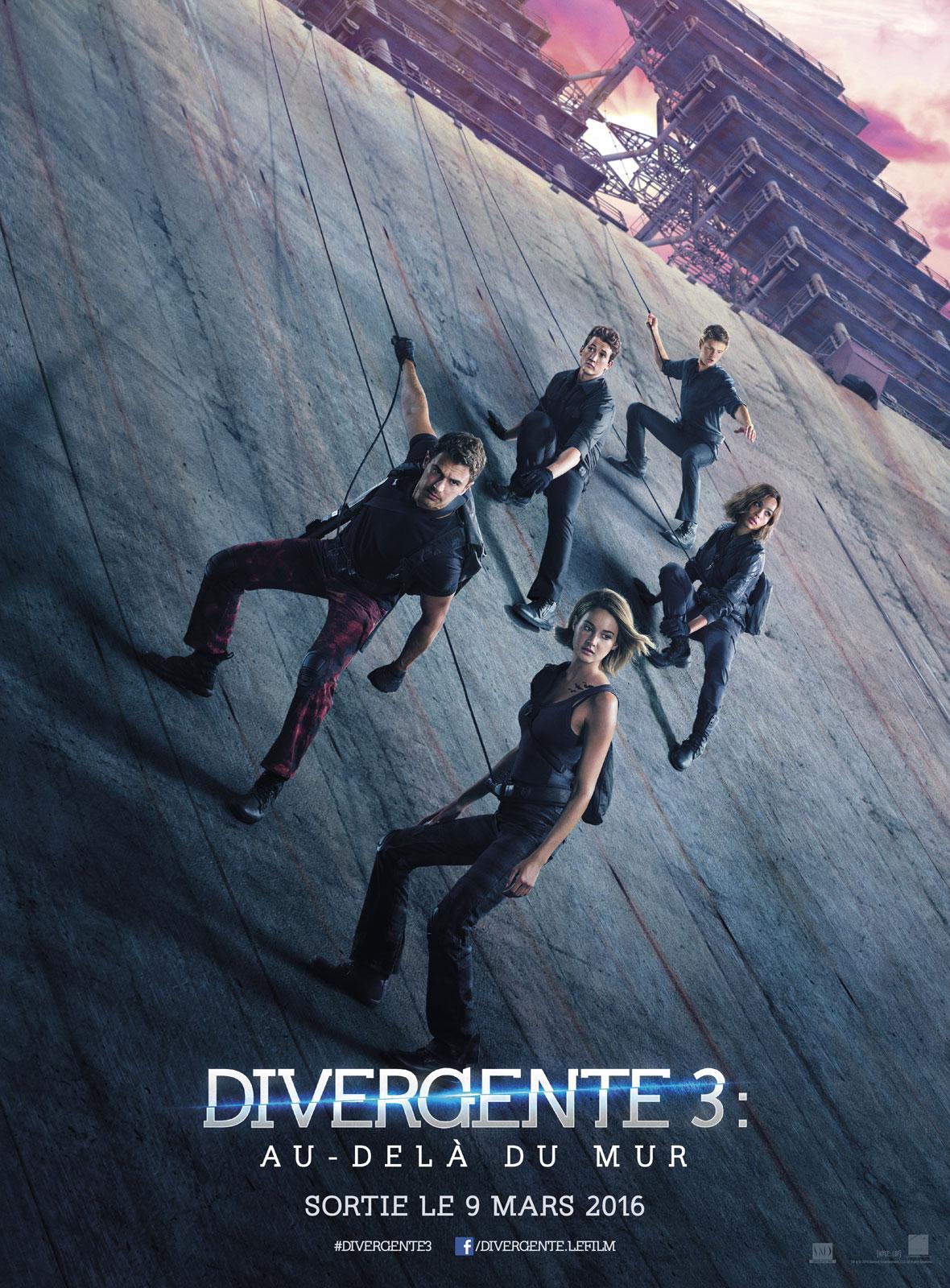 Divergente 3 : au-delà du mur : Affiche