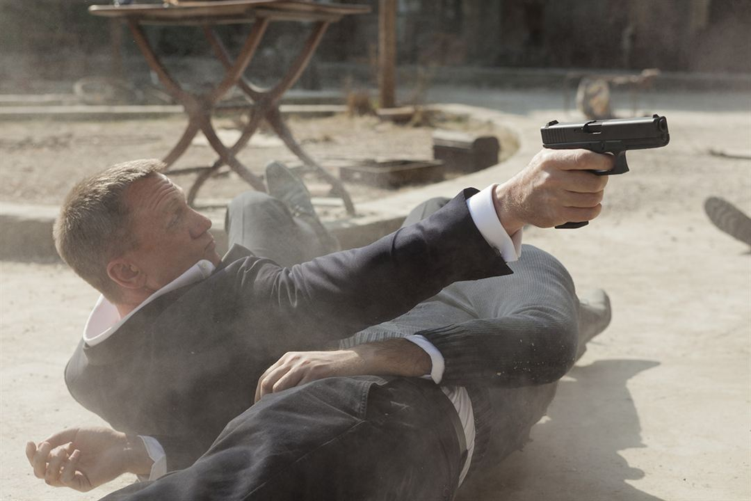 Skyfall : Photo Daniel Craig