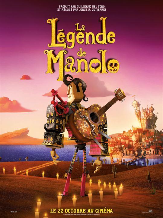 La Légende de Manolo : Affiche