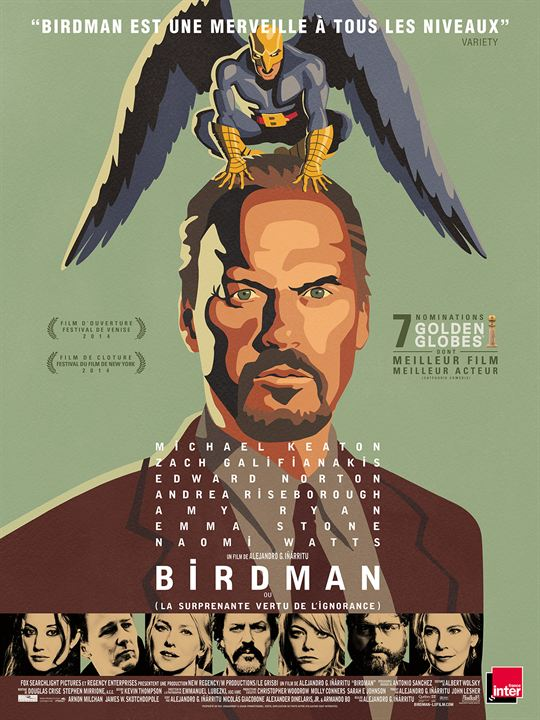 """Résultat de recherche d'images pour """"birdman affiche"""""""