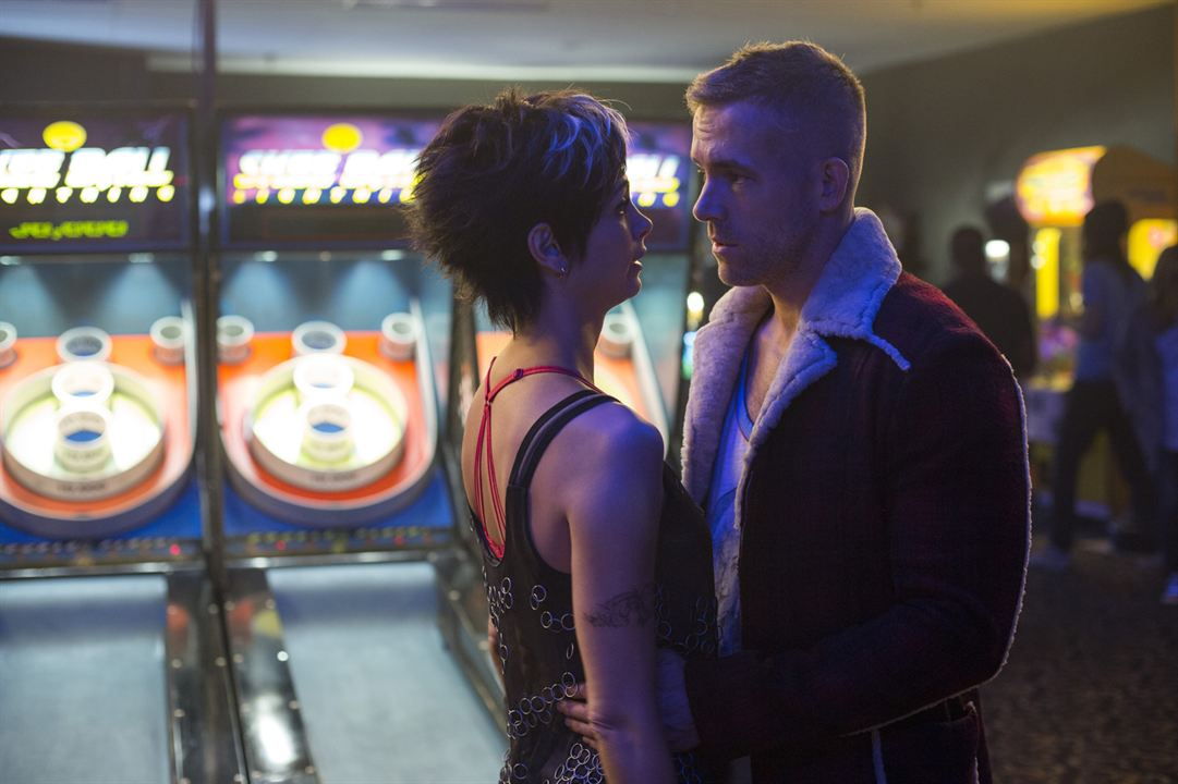Deadpool : Photo Morena Baccarin, Ryan Reynolds