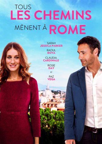 Tous les chemins mènent à Rome : Affiche