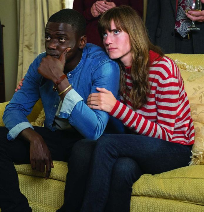 Get Out : Photo Allison Williams, Daniel Kaluuya