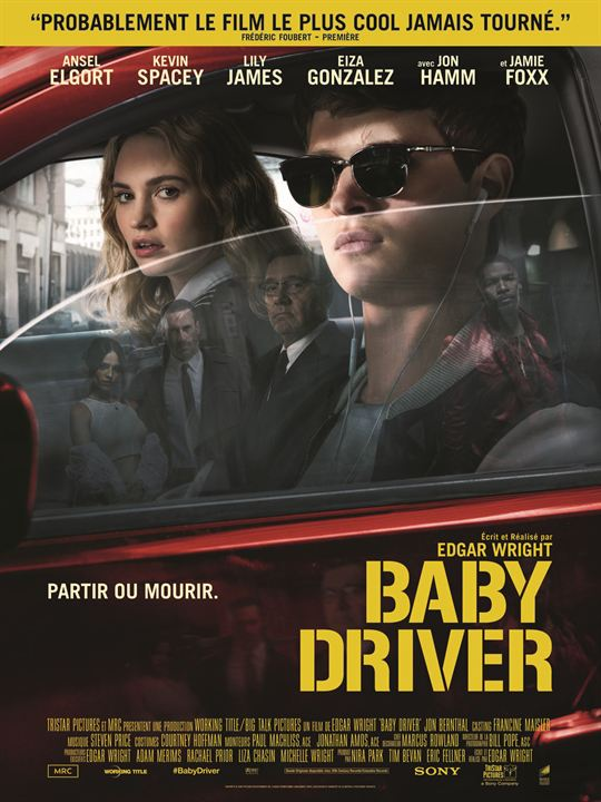 Baby Driver : Affiche