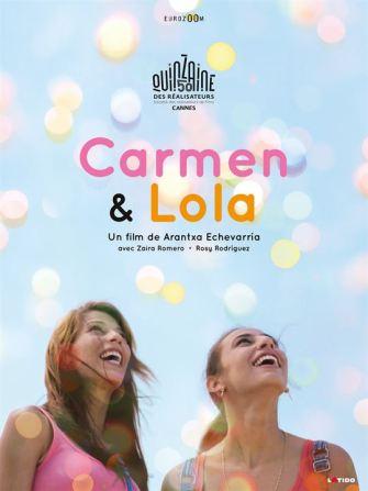 Carmen et Lola : Affiche