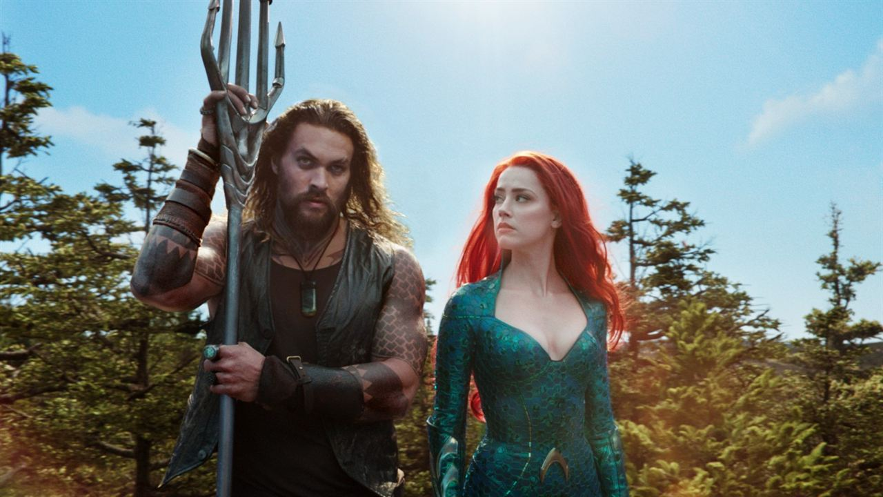 Aquaman : Photo Amber Heard, Jason Momoa