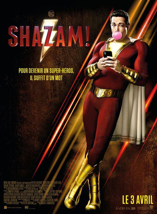 Shazam! : Affiche
