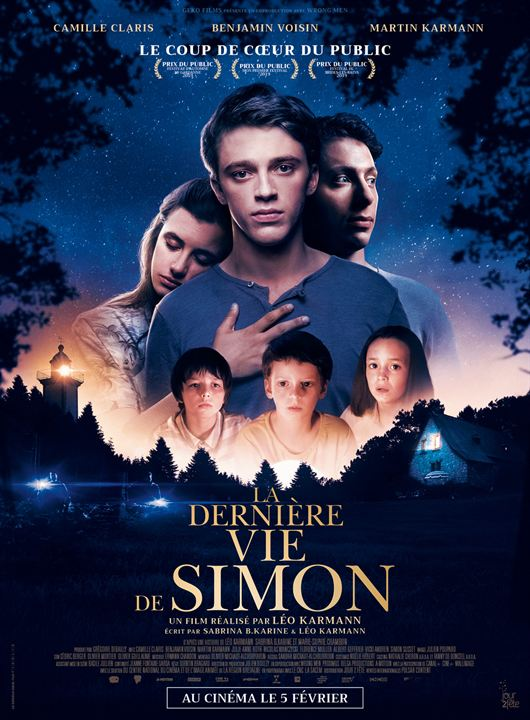 La Dernière Vie de Simon : Affiche