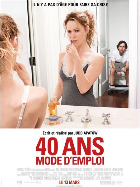 40 ans : mode d'emploi : affiche