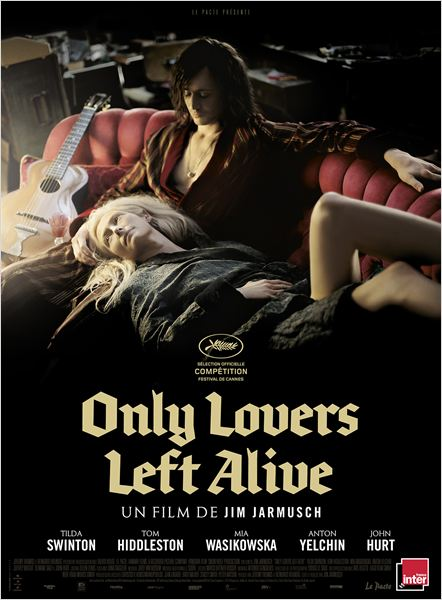 Only Lovers Left Alive : Affiche