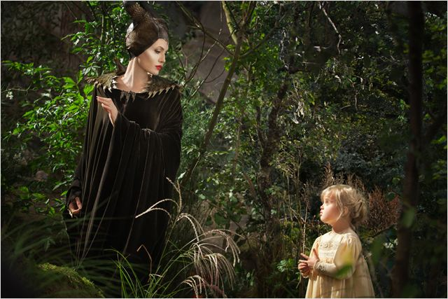 Maléfique : Photo Angelina Jolie, Vivienne Jolie-Pitt