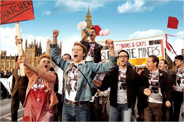 Pride : Photo Ben Schnetzer, Faye Marsay, George Mackay, Joseph Gilgun, Paddy Considine