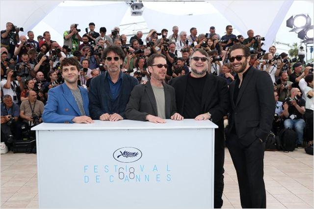 Photo promotionnelle Ethan Coen, Guillermo del Toro, Jake Gyllenhaal, Joel Coen, Xavier Dolan