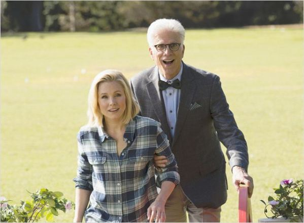 Photo Kristen Bell, Ted Danson © Justin Lubin/NBC