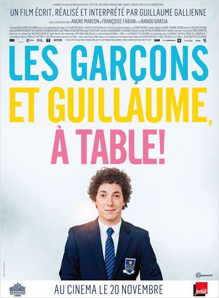 Les Garçons et Guillaume, à table ! : Affiche
