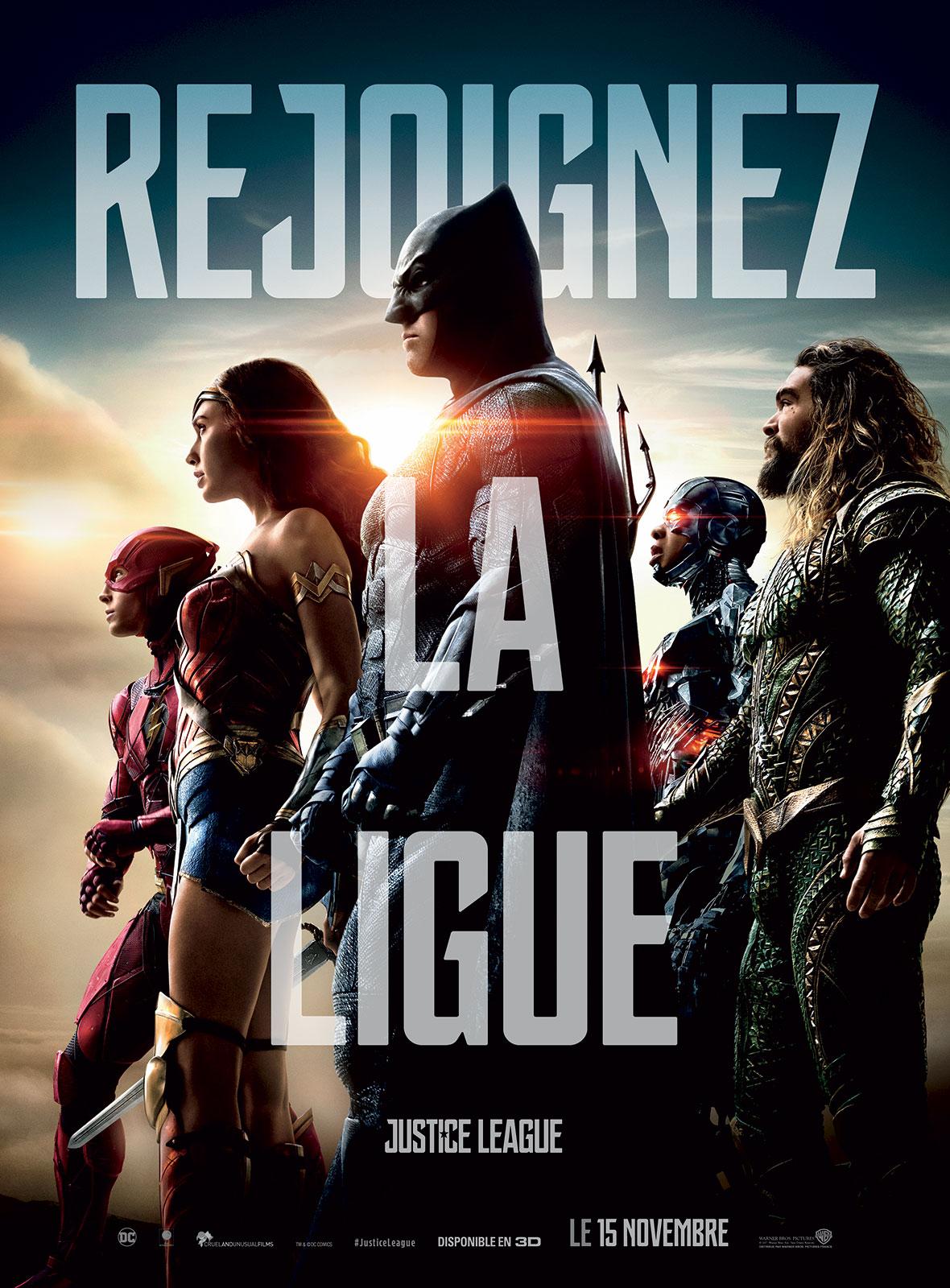 """Résultat de recherche d'images pour """"affiche justice league"""""""