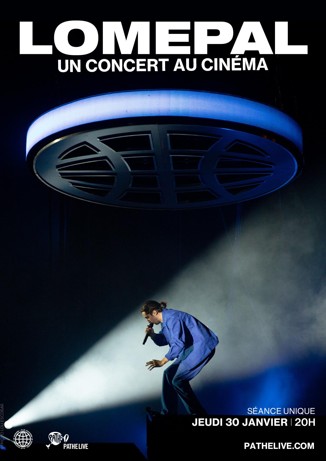 Lomepal, un concert au cinéma - film 2019 - AlloCiné