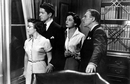 L'Inconnu du Nord-Express : Photo Farley Granger, Leo G. Carroll, Patricia Hitchcock, Ruth Roman