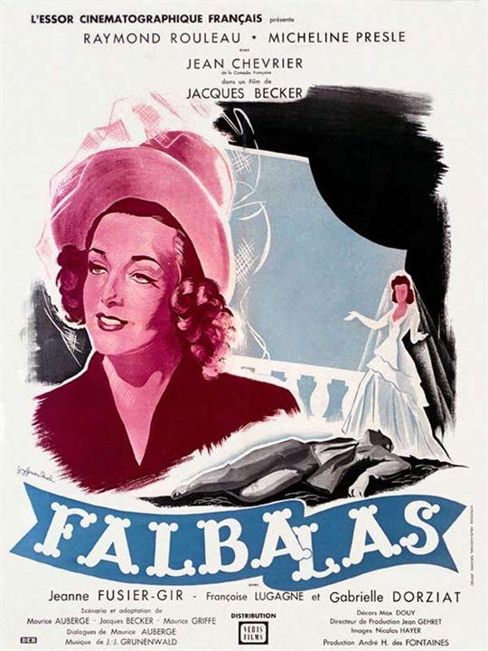 Falbalas : Affiche Jacques Becker