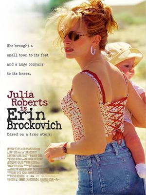 Erin Brockovich, seule contre tous : Affiche