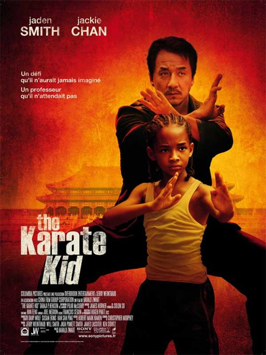 Karaté Kid : Affiche