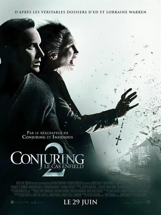 Conjuring 2 : Le Cas Enfield : Affiche