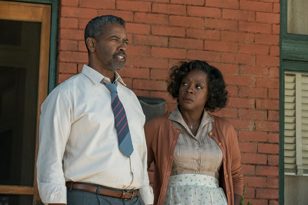 Fences : Photo Denzel Washington, Viola Davis