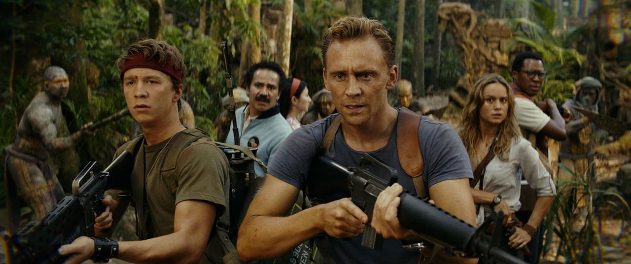 Kong: Skull Island : Photo Brie Larson, Corey Hawkins, Jing Tian, Thomas Mann (II), Tom Hiddleston