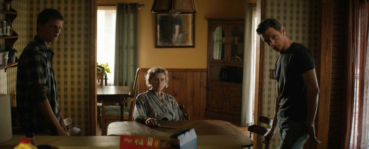 3 Billboards, Les Panneaux de la vengeance : Photo Frances McDormand, John Hawkes, Lucas Hedges