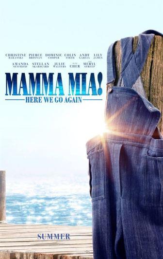 Mamma Mia: Here We Go Again! : Affiche