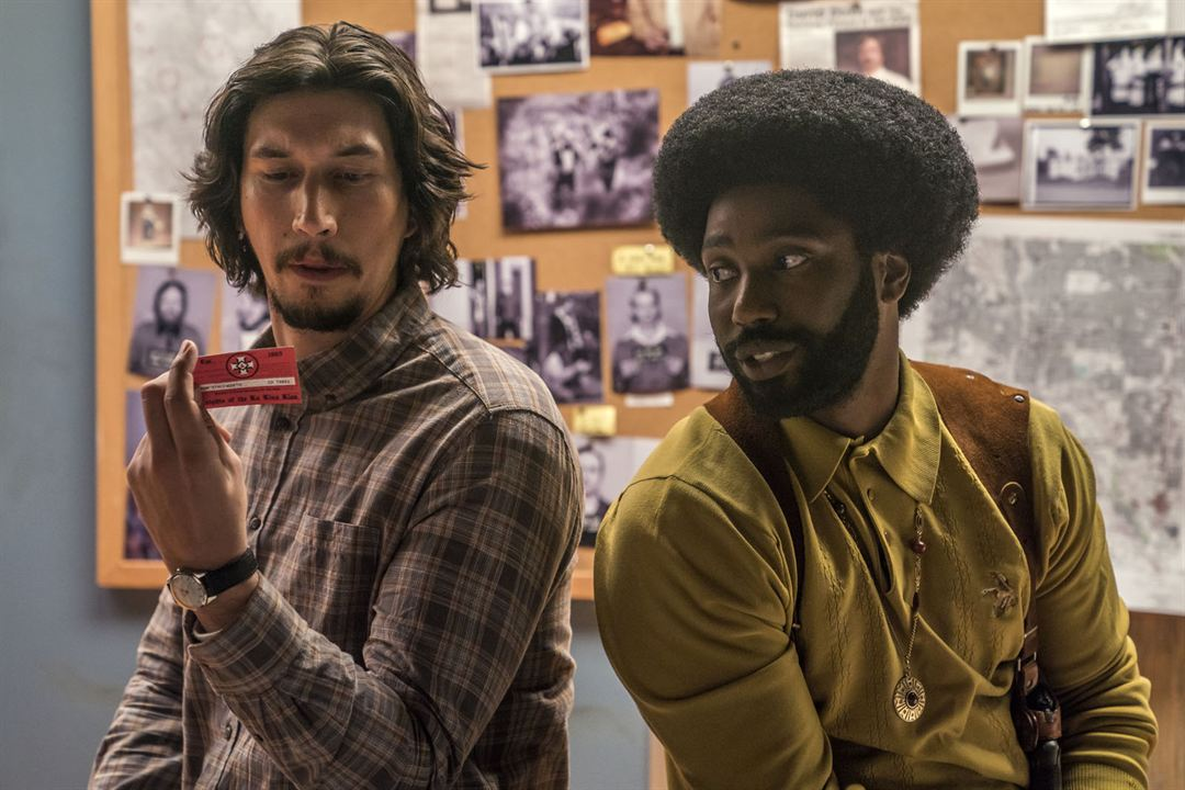 BlacKkKlansman - J'ai infiltré le Ku Klux Klan : Photo Adam Driver, John David Washington