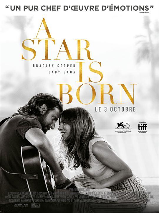 """Résultat de recherche d'images pour """"affiche la star is born"""""""
