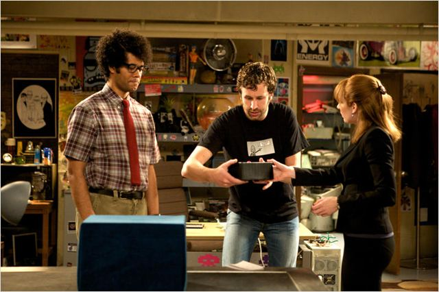 The IT Crowd : Photo Chris O'Dowd, Katherine Parkinson, Richard Ayoade