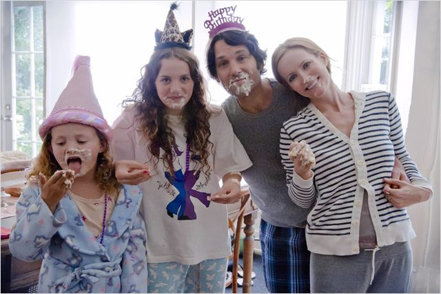 40 ans : mode d'emploi : photo Iris Apatow, Leslie Mann, Maude Apatow, Paul Rudd