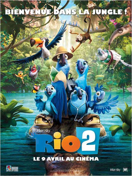 Rio 2 : Affiche