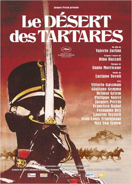 Le Désert des Tartares : Affiche