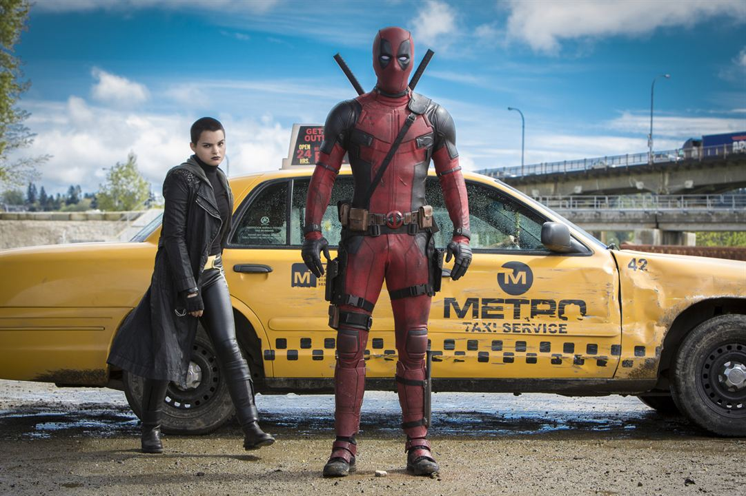 Deadpool : Photo Brianna Hildebrand, Ryan Reynolds
