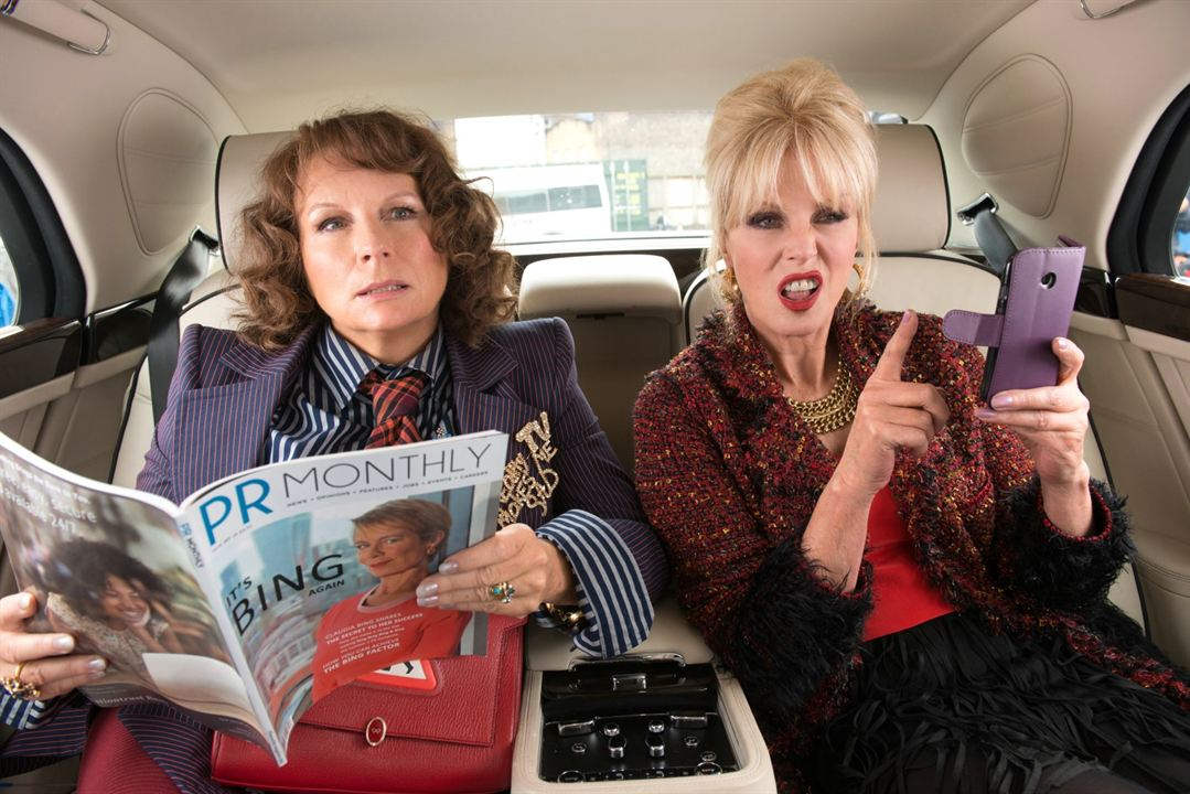 Absolutely Fabulous : Le Film : Photo Jennifer Saunders, Joanna Lumley