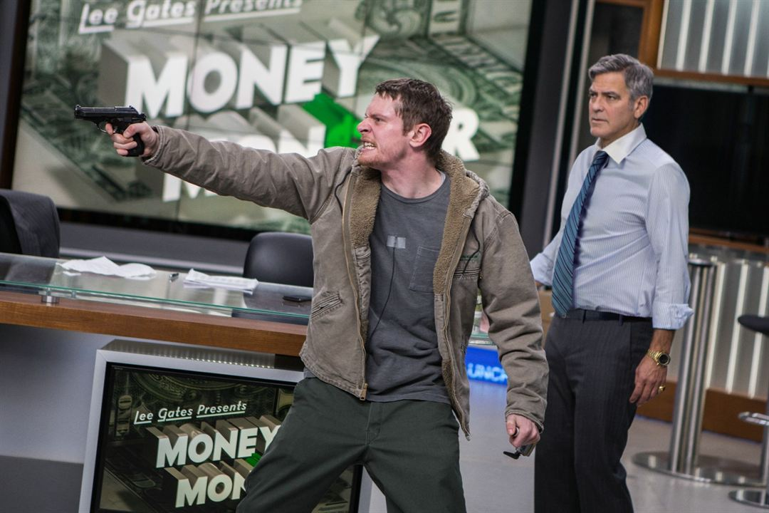 Money Monster : Photo George Clooney, Jack O'Connell