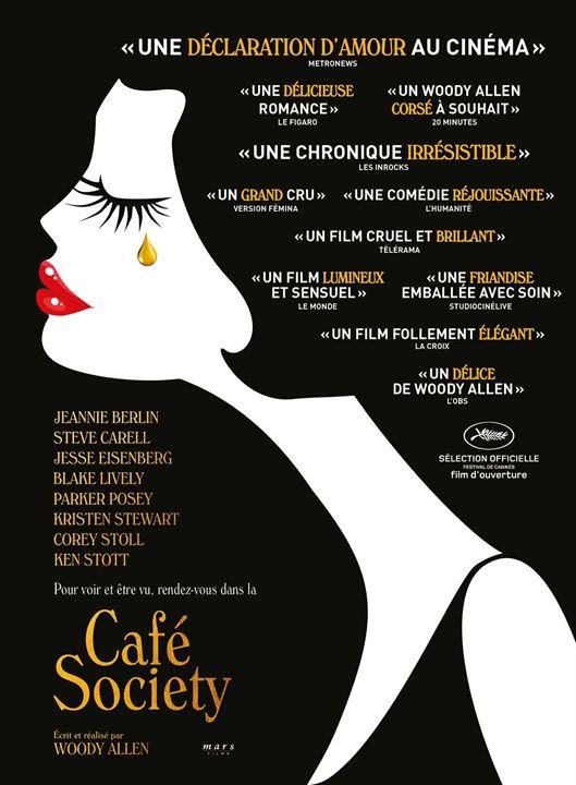 Café Society : Affiche