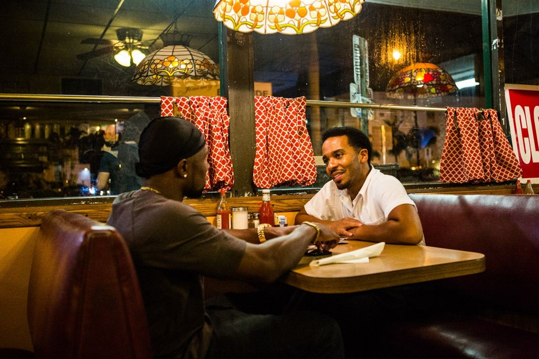 Moonlight : Photo Andre Holland, Trevante Rhodes